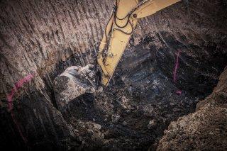 L'été : idéal pour l'excavation et l'inspection du drain français